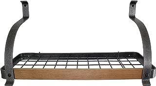 product image for Enclume Decor Bookshelf Wall Rack with Alder, Hammered Steel