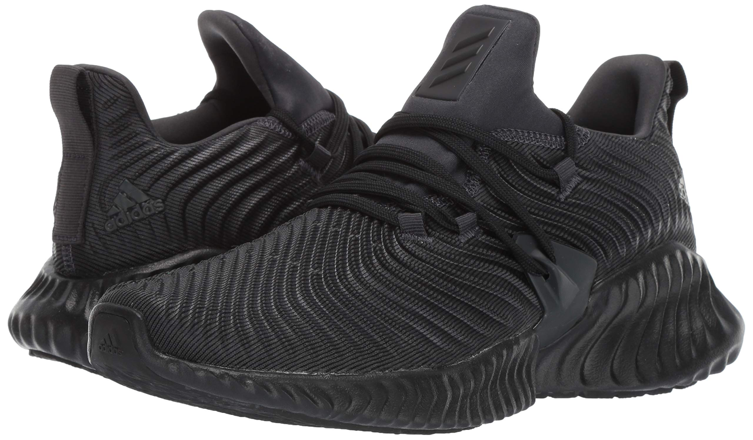 Adidas Kids Alphabounce Instinct, Carbon/Core Black/Carbon, 2 M US Little Kid by adidas (Image #6)