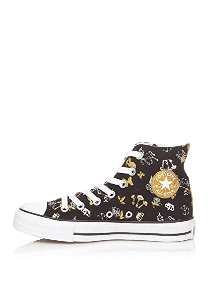 Converse Chuck Taylor Rock High 504340, Baskets Mode Femme