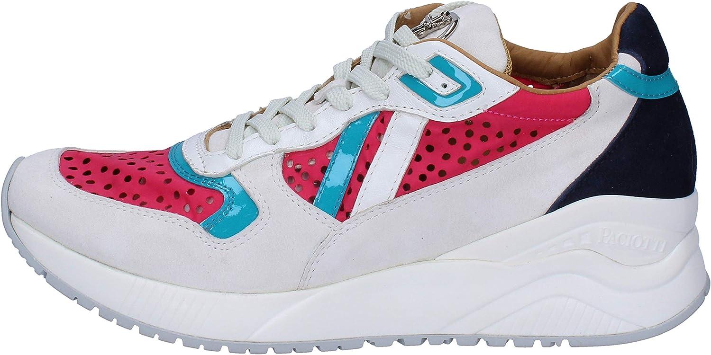 CESARE PACIOTTI 4US Sneakers Mujer Gamuza Blanco