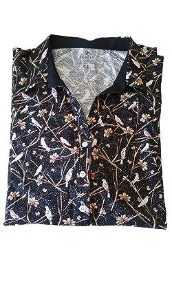 fb69523942b13 DeSoto bügelfreie Premium - Jersey Bluse aus mercerisierter ...
