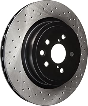 Cross-Drilled Disc Brake Rotor Centric 128.44163