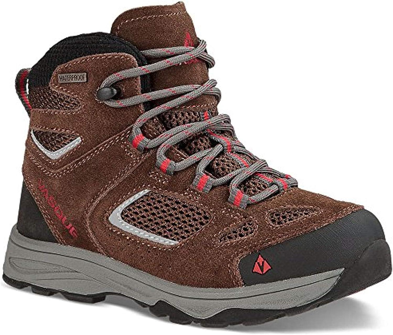 Vasque Kids Breeze III UltraDry Hiking Boots /& Knit Cap Bundle