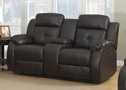Amazoncom Ac Pacific Troy Collection Modern Upholstered Leather
