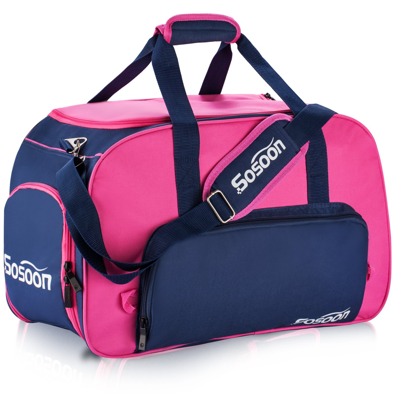 Sosoon Duffel Bag, Folding Storage Bag for Traveling and Business Trip Sports Gym Bag