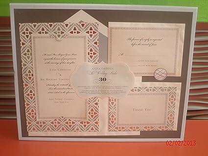 Amazon.com: Anna Griffin-The Wedding Studio- 30ct Premium Printable ...