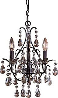 Minka lavery 3138 284 3 light vintage bronze mini chandelier minka lavery 3122 301 3 light mini chandelier castlewood walnut mozeypictures Image collections