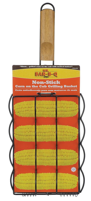 Mr Bar-B-Q 06077X Non Stick Corn on the Cob Grill Basket