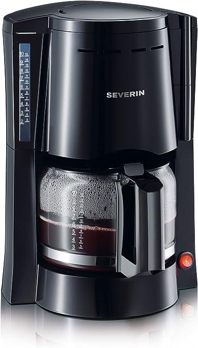 Severin 4049 - Cafetera Jarra de Cristal Negra: Amazon.es: Hogar