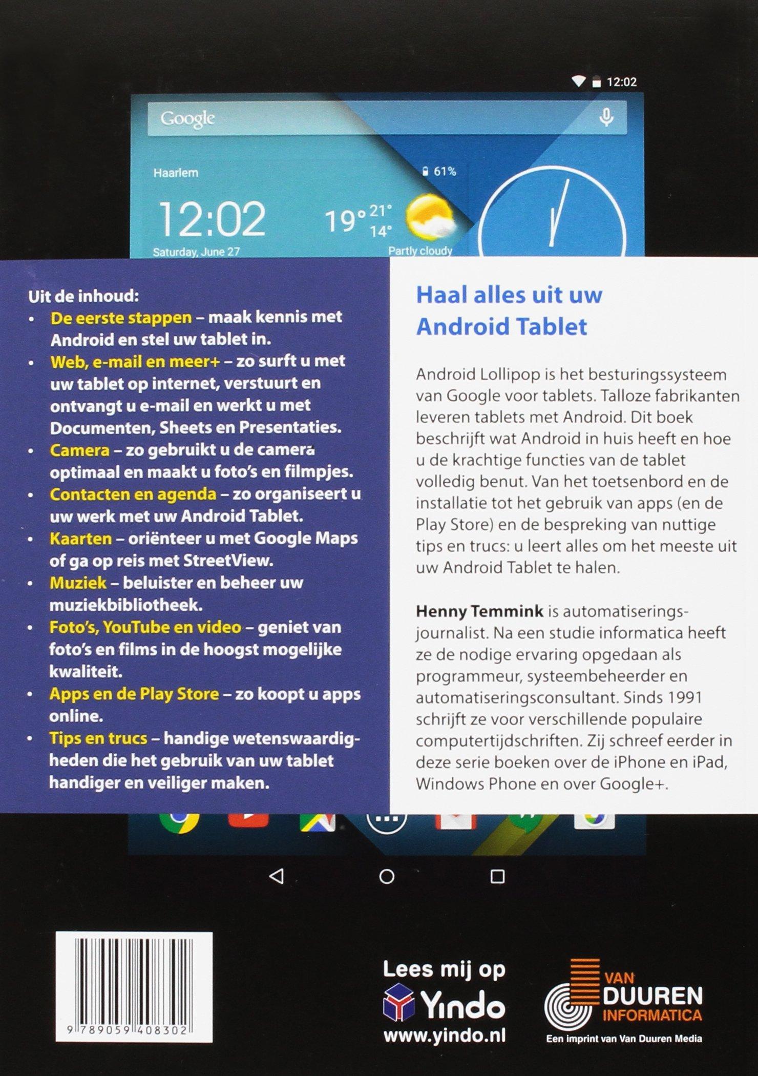 Ontdek de Android tablet: Amazon.es: Henny Temmink: Libros ...