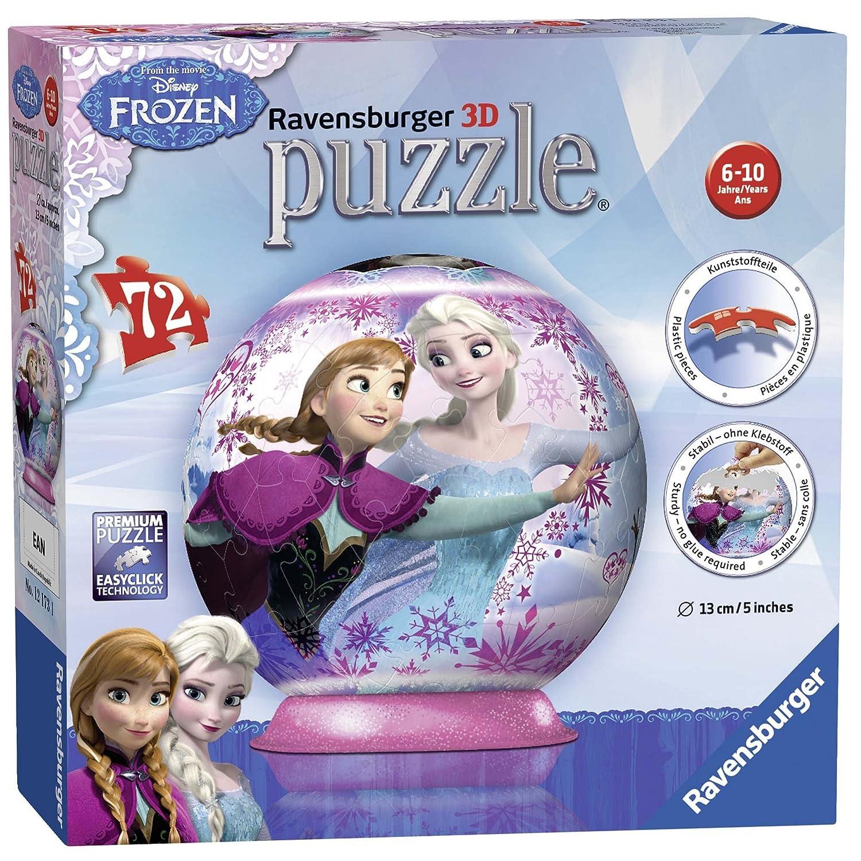 Ravensburger Disney Gefrorene 3D Puzzle Ball - 72 -teilig 12173