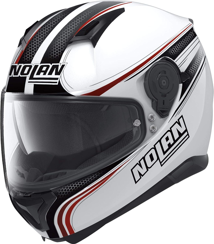 NOLAN N87 RAPID N-COM 017 METAL WHITE
