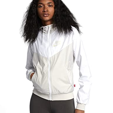 efb15106f NIKE Sportswear Windrunner Women's Jacket (Light Bone, Large ...