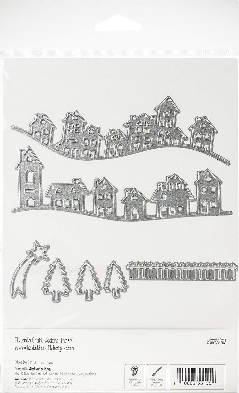 ELIZABETH CRAFT DESIGNS 1691 Elizabeth Craft DIE VILLG Village Edges