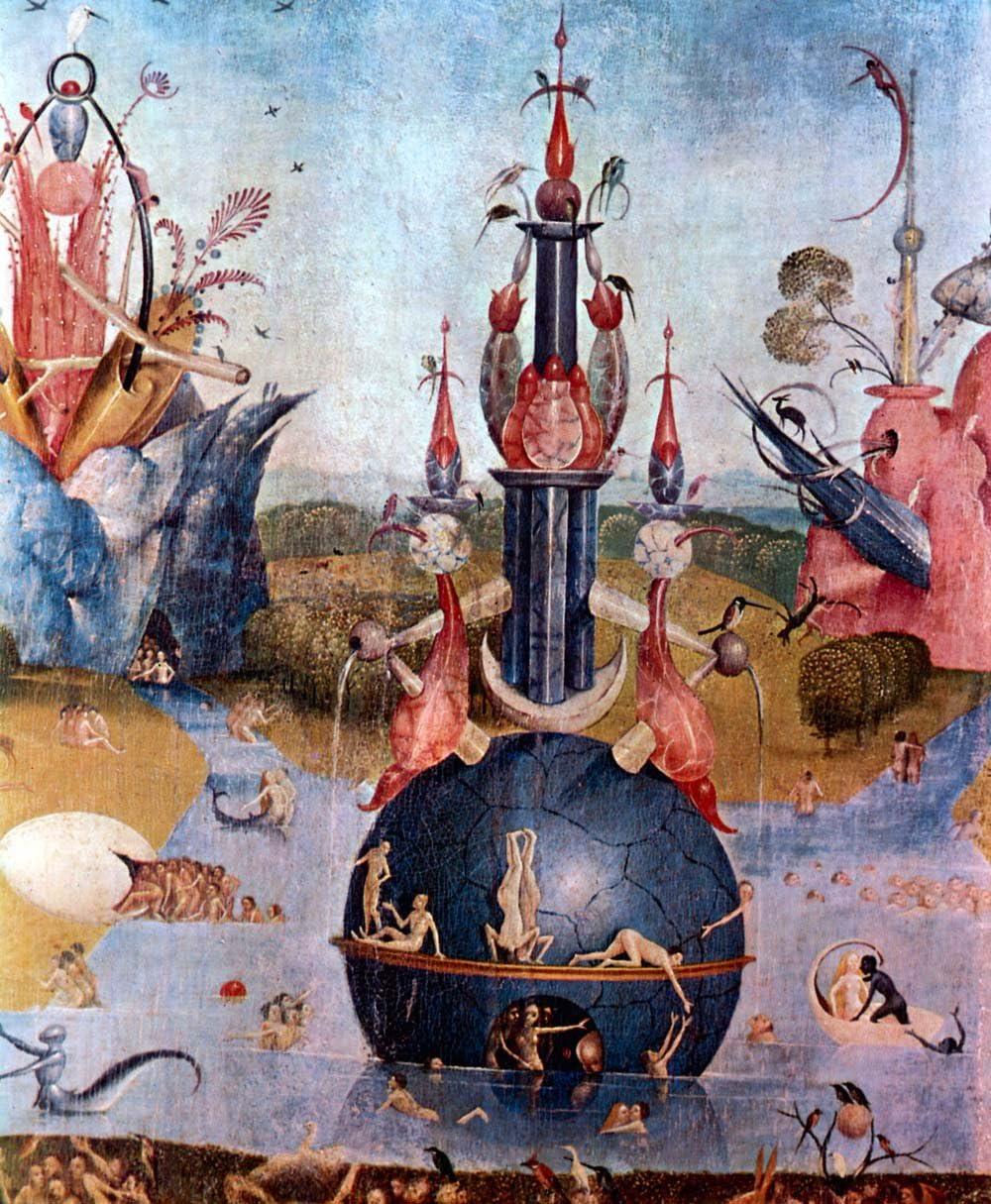 El Museo de salida – el jardín de las delicias, detalle [12] por Bosch – Póster (24 x 18 cm): Amazon.es: Hogar