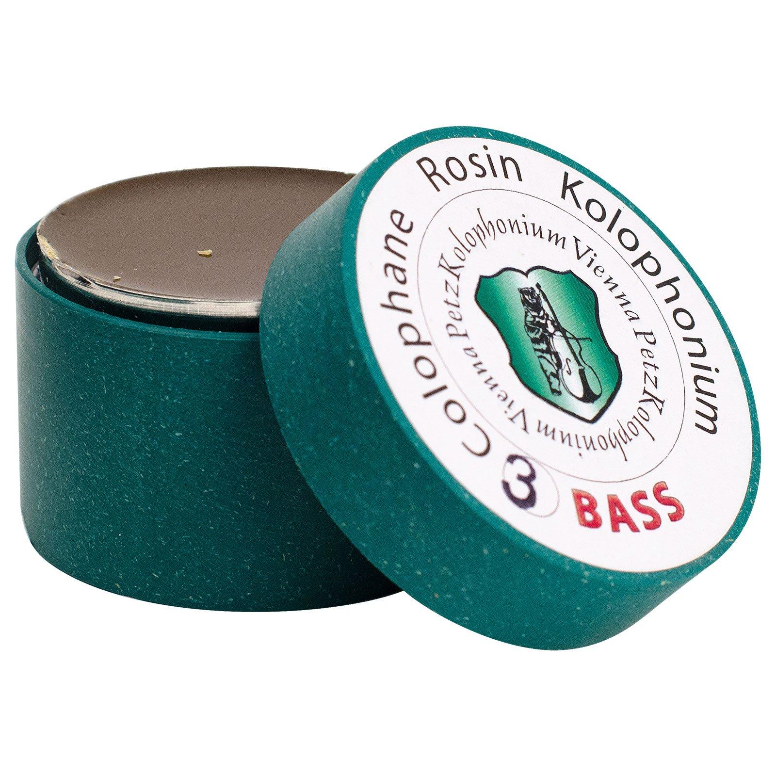 Petz VP-05B3 Bass Bow Rosin No.3 - Medium