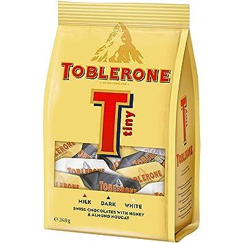 Amazoncom Toblerone Tiny Assorted Chocolate Mix White