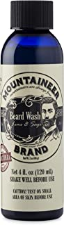 product image for Beard Wash by Mountaineer Brand | Premium 100% Natural Beard Shampoo (Lime & Sage, 4 Ounce)