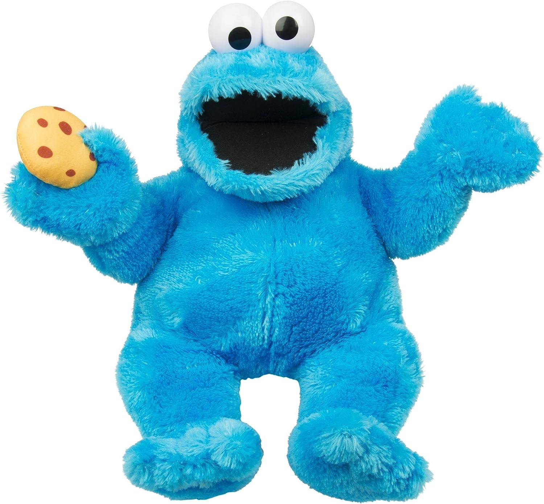 Barrio Sésamo Cookie Monster | Títere | Sesame Street 35 cm | Felpa