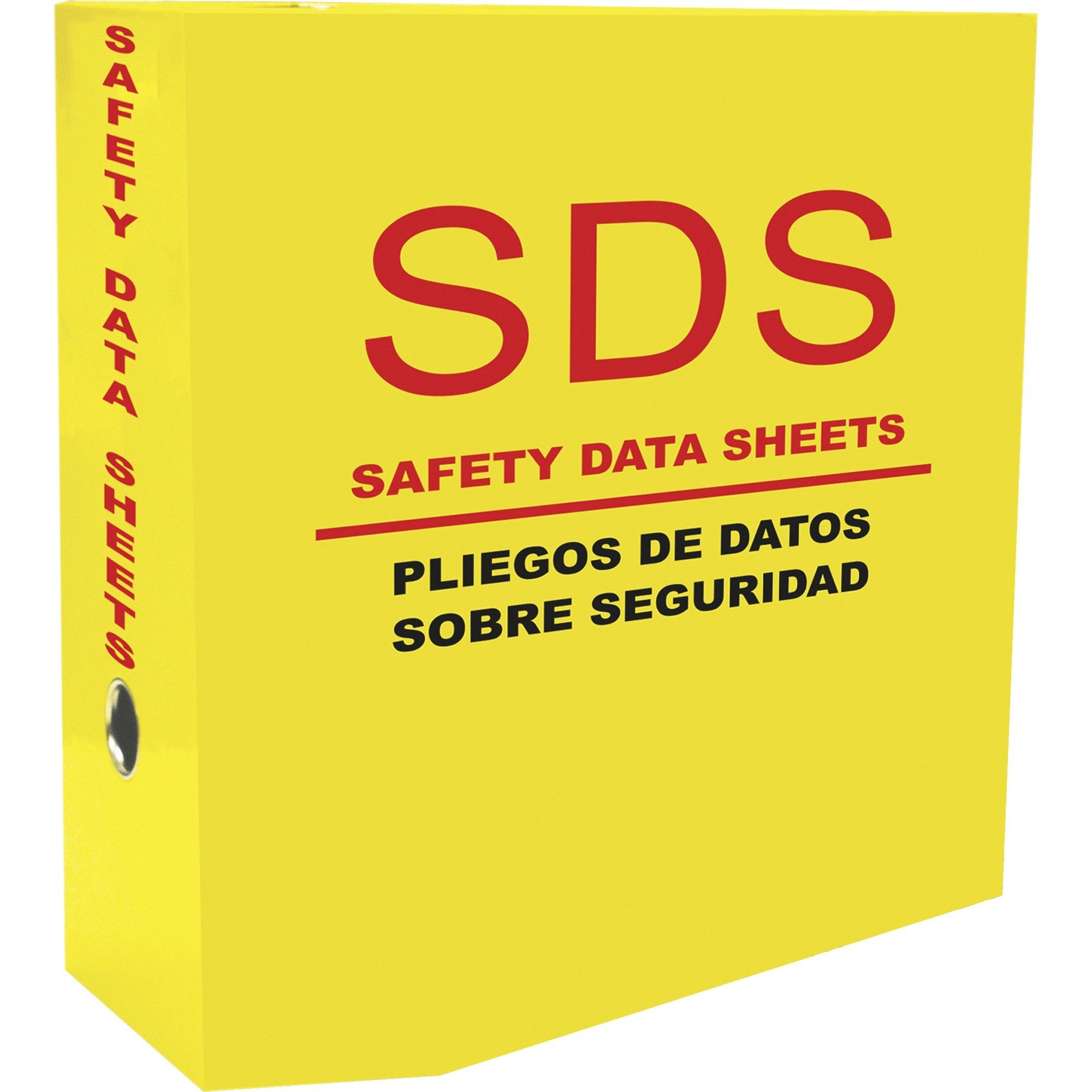 Aurora Products 13088 D-Ring SDS-2 5.0-Inch Binder Yellow by Aurora Products
