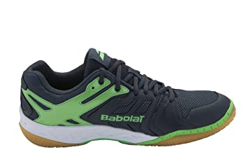 29bc7032d71 Babolat Mens Shadow Team Badminton Shoes (Anthracite Green) 10 UK ...