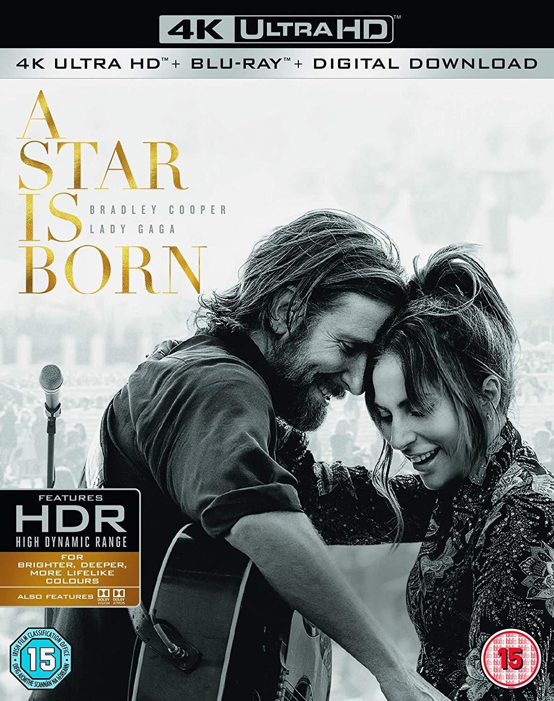 Amazon in: Buy A Star is Born 4K ULTRA HD BLU RAY + BLU RAY