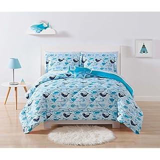 Laura Hart Kids Comforter Set, Twin/Twin XL, Deep Blue Sea