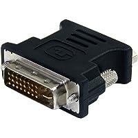 StarTech, StarTech DVIVGAMFBK Cable Adaptador DVI a VGA, Macho/Hembra, color Negro