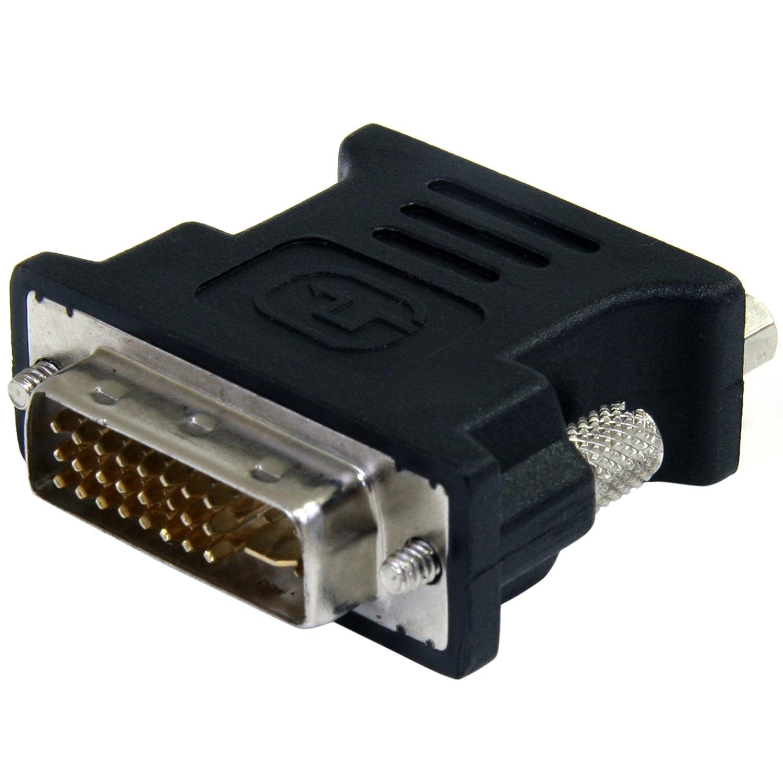 Convertitore Cavo DVI a VGA StarTech.com Adattatore DVI a VGA M//F Nero Maschio//Femmina