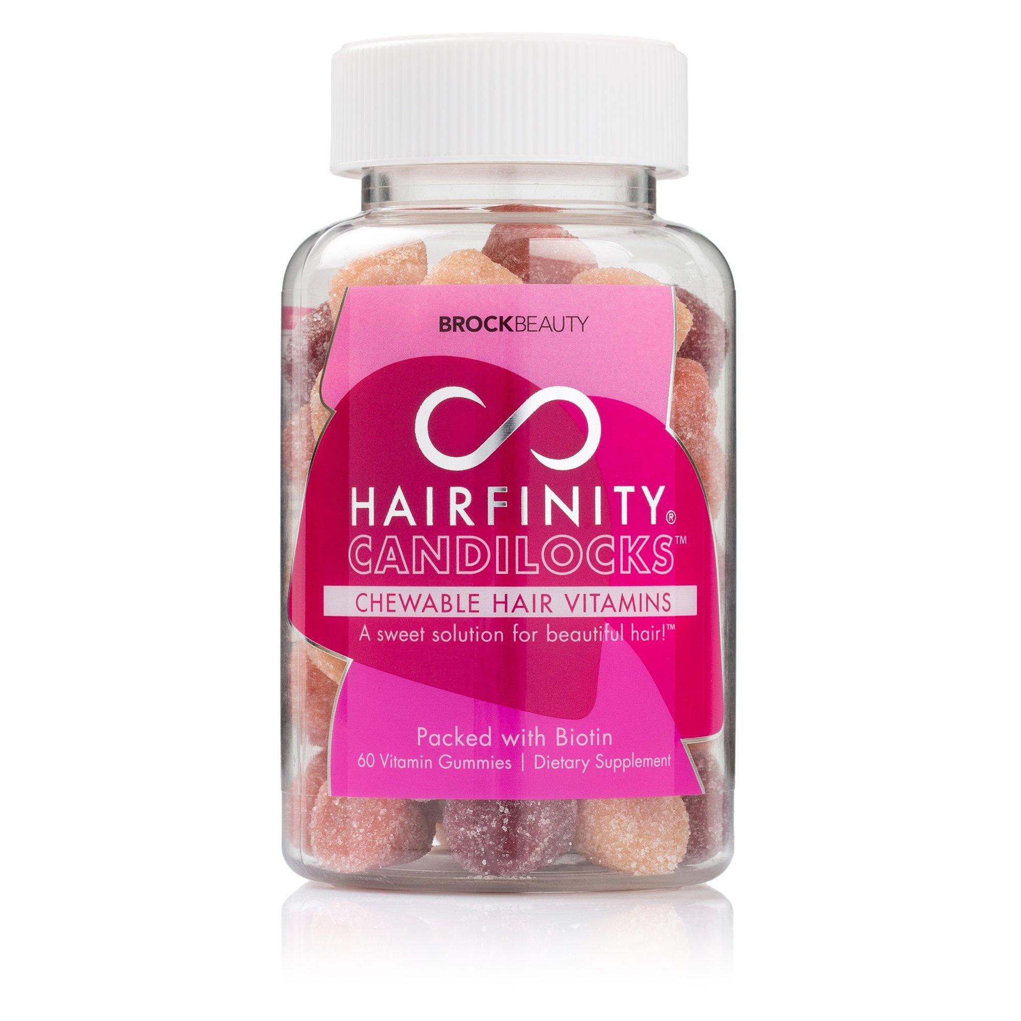 Hairfinity Candilocks Chewable Hair Vitamins 60 Gummies