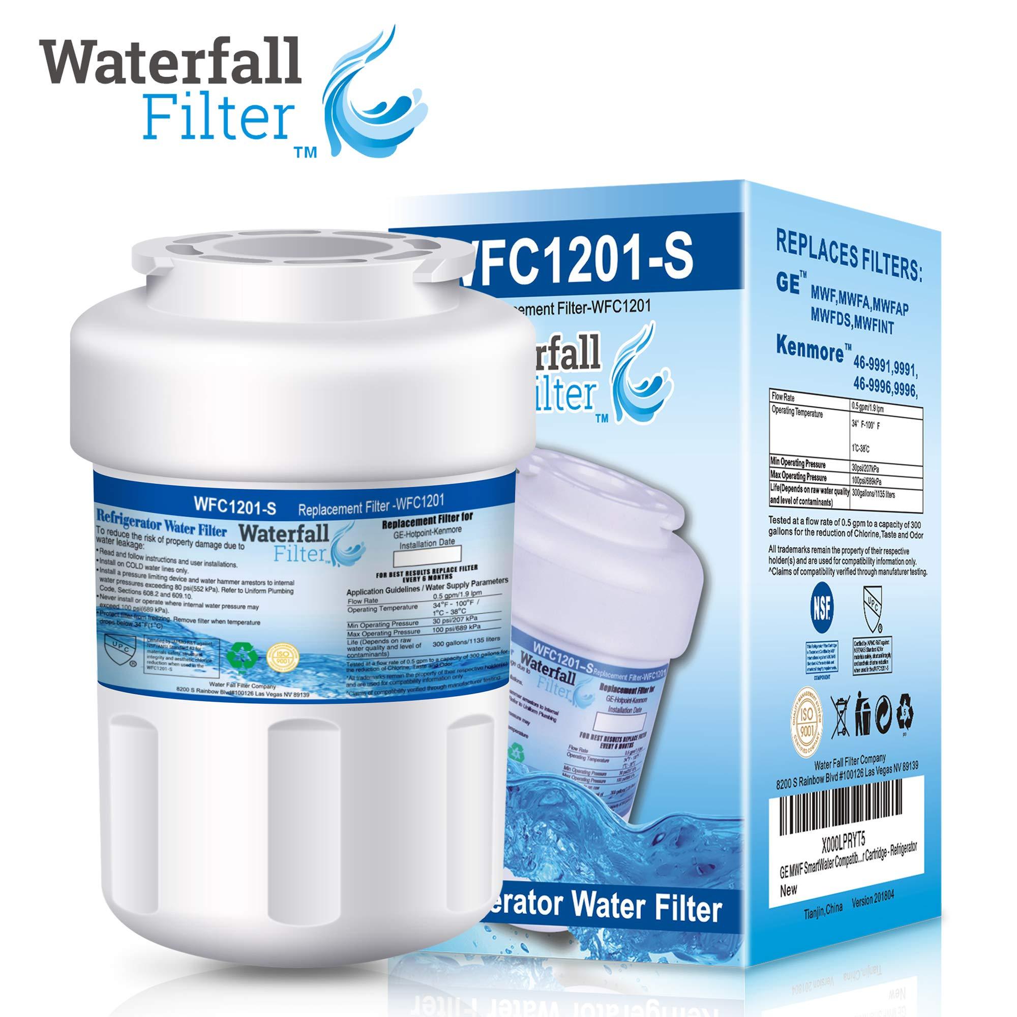 GE MWF GWFA GWF06 Refrigerator Water Filter Cartridges Smartwater New