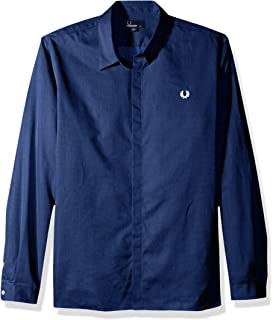 Fred Perry Mens Concealed Placket Shirt