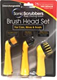 SonicScrubber 21570 Pro-Detailer Accessory Brushes for Cars/ Bikes and Boats