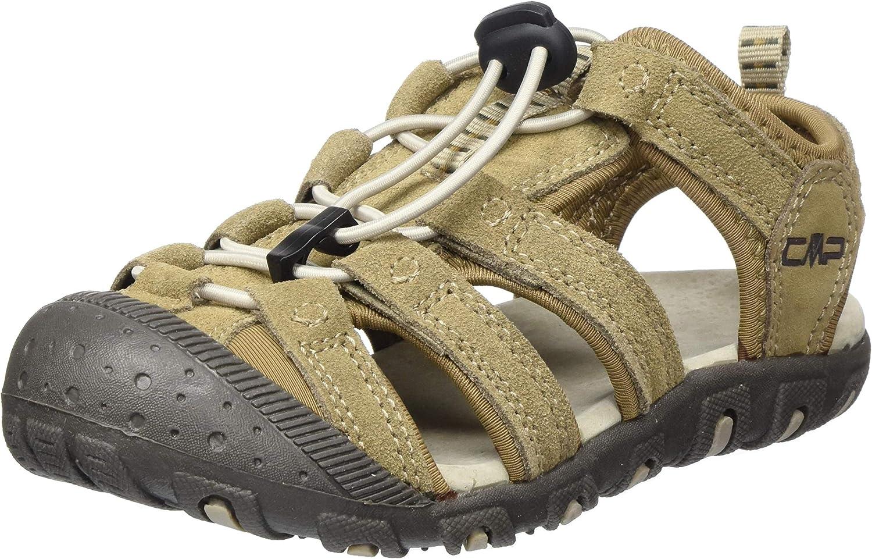 CMP – F.lli Campagnolo Kids Sahiph Leather Hiking Sandal, Sandalias de Senderismo Unisex Niños