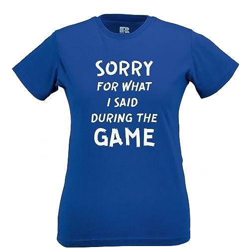 Tim and Ted Dispiace per Quello Che Ho Detto Durante la Partita di Calcio Slogan Stampato T-Shirt da...