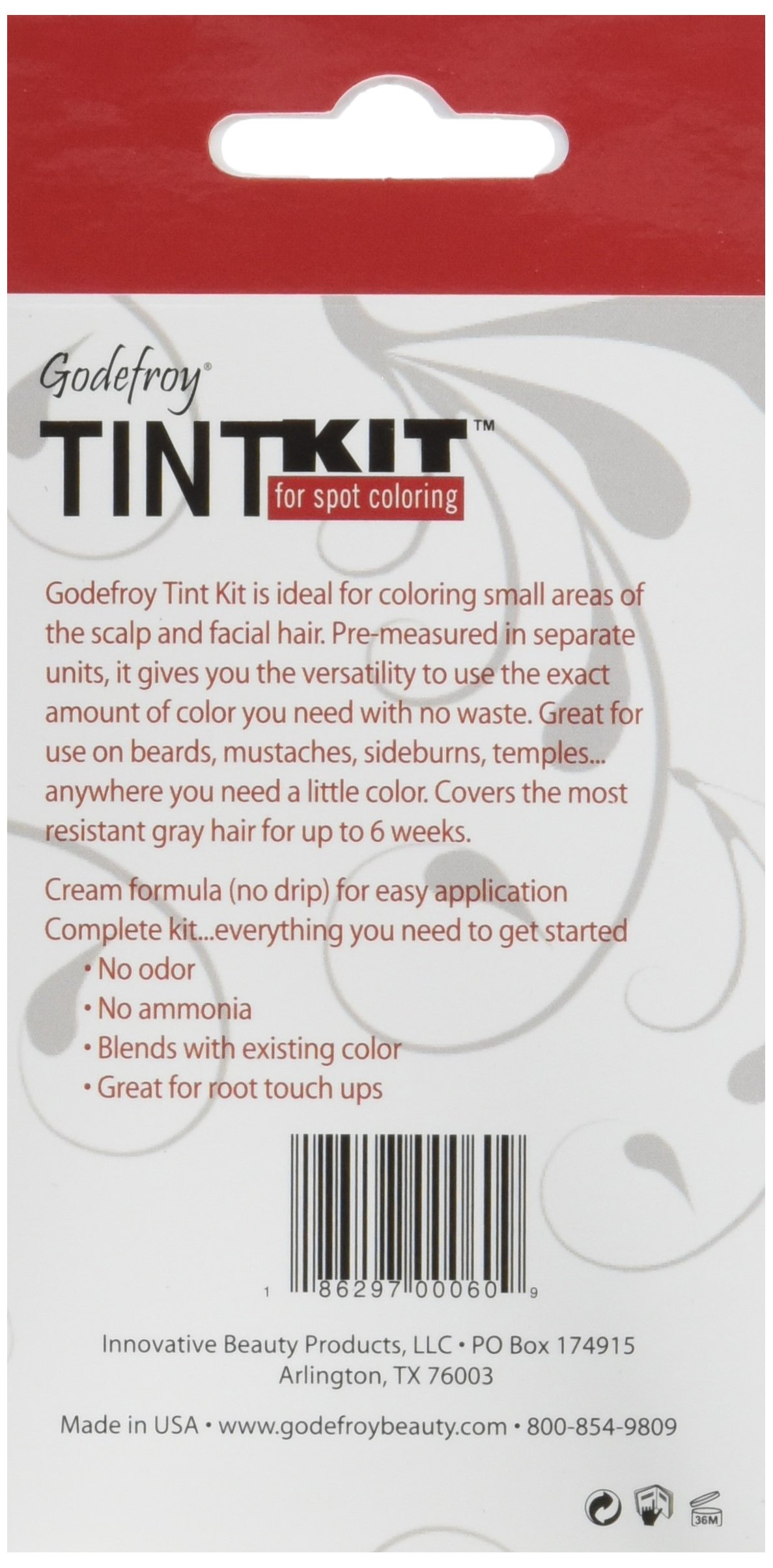 Godefroy 4 Applications Tint Kit, Light Brown by Godefroy (Image #2)