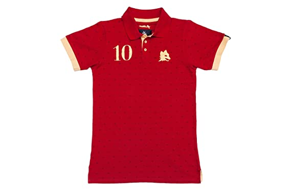0aa14155741bf Coolligan - Polo de Fútbol Retro 1927 Giallorossi - Color - Rojo - Talla -  XL