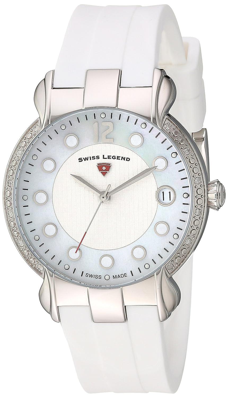 Swiss Legend Damen-Armbanduhr SL-16591SM-02-WHT