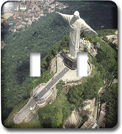 Brazil Sa04 Bba0018 Bill Bachmann Double Toggle Switch Rio De Janeiro 3dRose lsp/_85658/_2 Corcovado Christ Statue