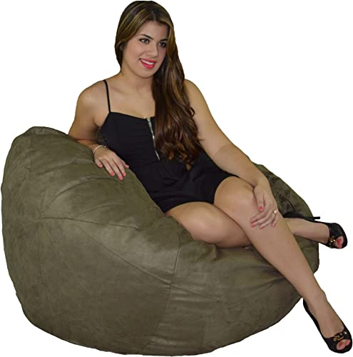 Cozy Sack Bean Bag Chair: Large 4 Foot Foam Filled Bean Bag Large Bean Bag Chair - the best bean bag chair for the money