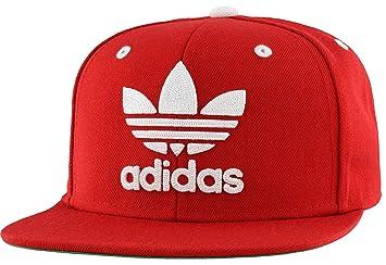 adidas Originals - Hombres De Gorra Flatbrim Cap, Hombre, Scarlet ...