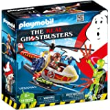 PLAYMOBIL® Venkman with Helicopter Building Set