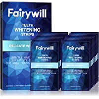 Fairywill Teeth Whitening Strips for Sensitive Teeth - Reduced Sensitivity Whitening Strips, Gentle and Safe for Enamel, Dental Teeth Strips Pack of 28 Whitener Strips