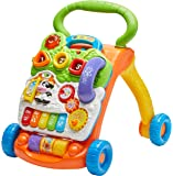 VTech 80-077000 Sit-to-Stand Learning Walker,Orange