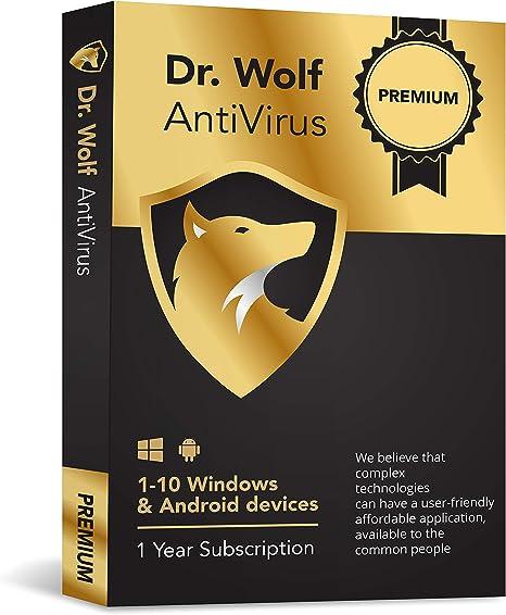 Dr. Wolf - Internet Security - Anti-Virus Premium: Amazon.es: Electrónica