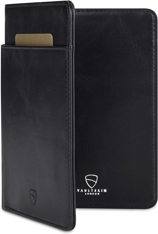 Vaultskin KENSINGTON Leather Passport Wallet with RFID Protection