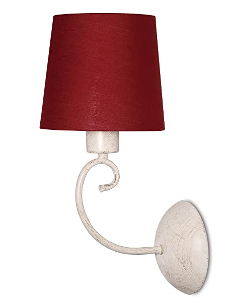 Philips 37737/32/86 24-Watt Roomstylers Wall Light (Red and Metal) Wall Lights at amazon