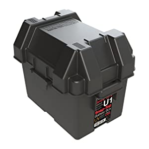 NOCO Black HM082BKS Group U1 Snap-Top Box for Mobility, Scooters, Lawn and Garden Batteries