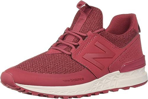 new balance 574s red