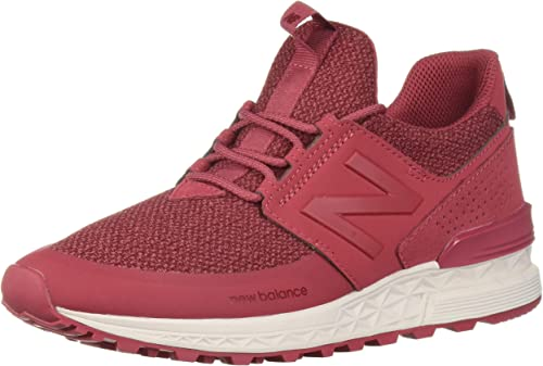 maroon new balance women's 574